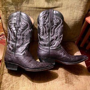 Cuadra Limited Edition Black Cowboy Boots - 7 1/2